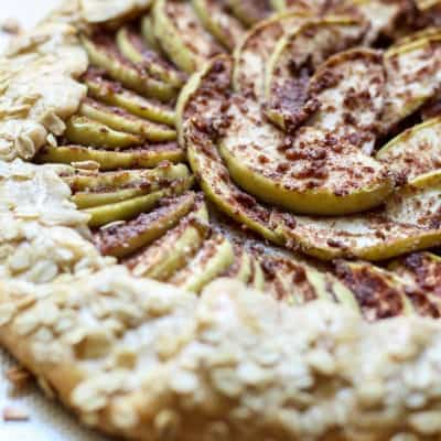 Whole Wheat Chai Spiced Apple Galette
