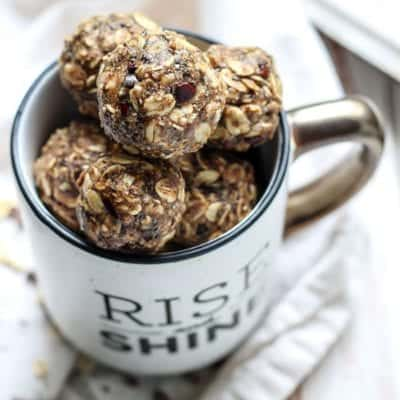 Dirty Chai Energy Balls