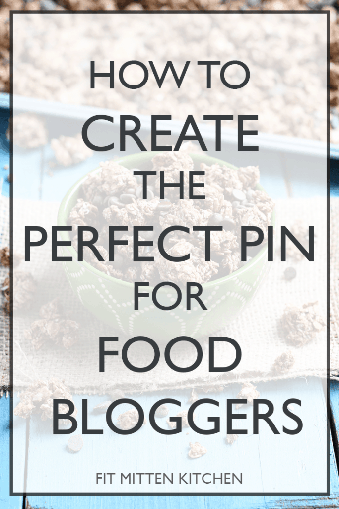 How to Create the Perfect Pin for Food Bloggers. || step-by-step guide with tips and tricks!
