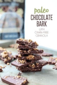 4-Ingredient Paleo Chocolate Bark