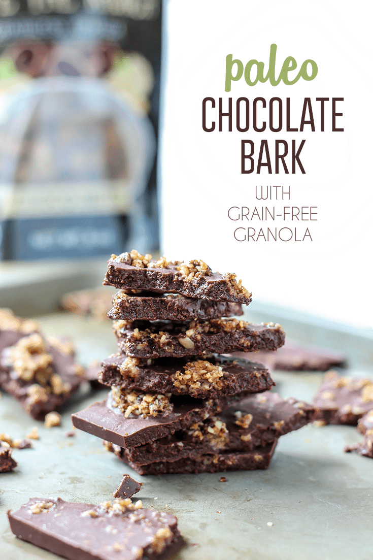 4-Ingredient Paleo Chocolate Bark