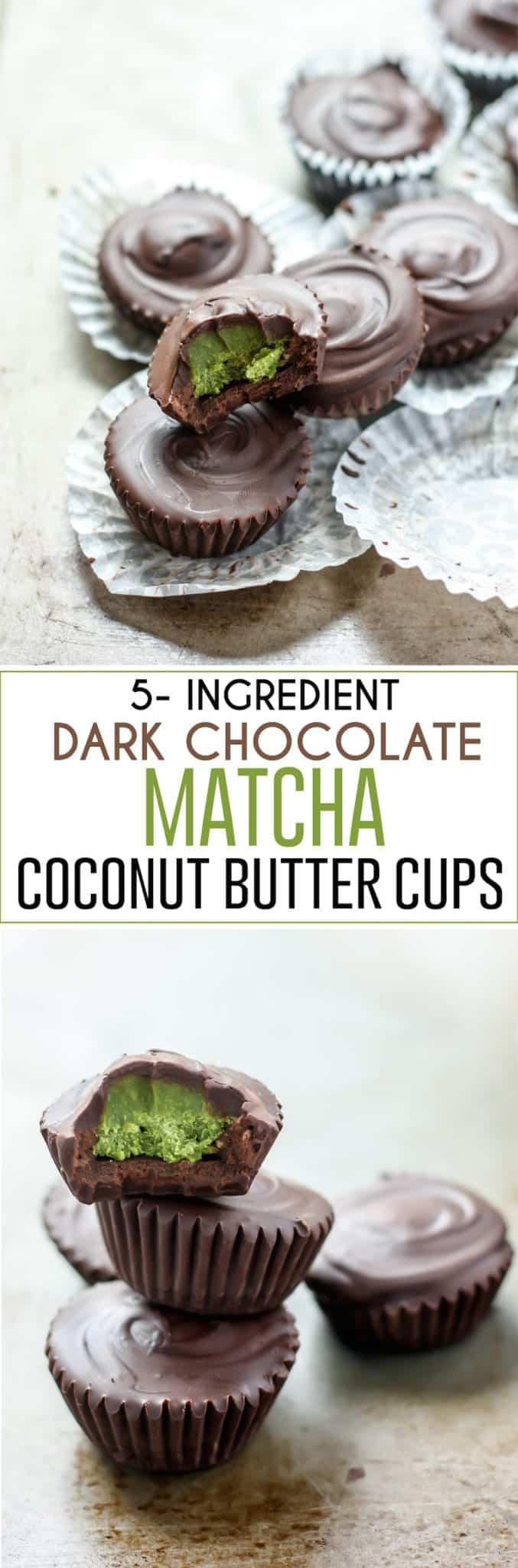 dark chocolate matcha coconut butter cups pinterest image fit mitten kitchen