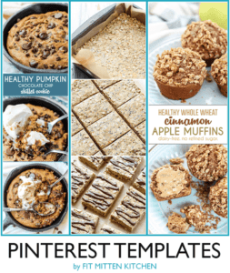 Pinterest Tips for Food Bloggers. Some templates!