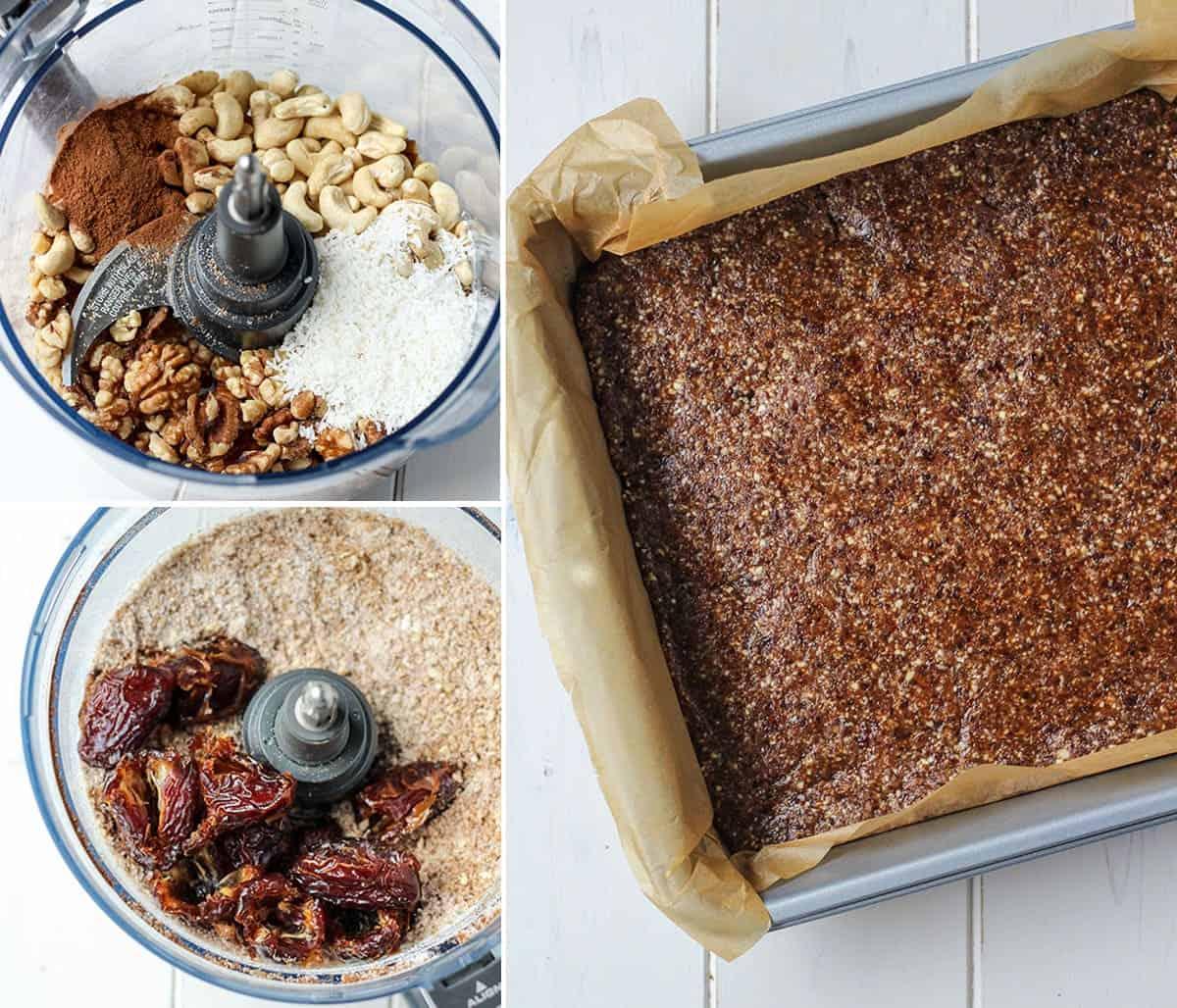 Pumpkin-spice-paleo-protein-bars-steps • Fit Mitten Kitchen