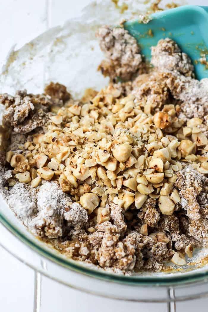 Whole Wheat Chocolate Dipped Hazelnut Biscotti • Fit ...