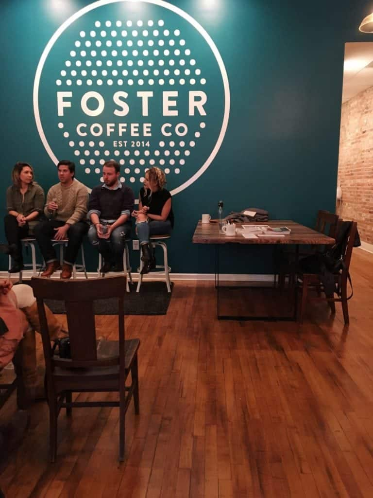 Michigan Blogger Mixer at Foster Coffee Co.