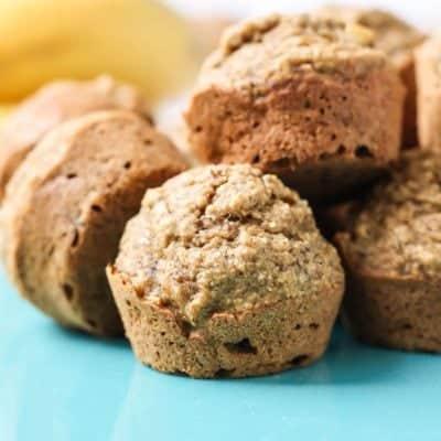 Gluten-free Vegan Mini Banana Muffins