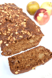 Gingerbread Apple Loaf - The Nutritious Princess
