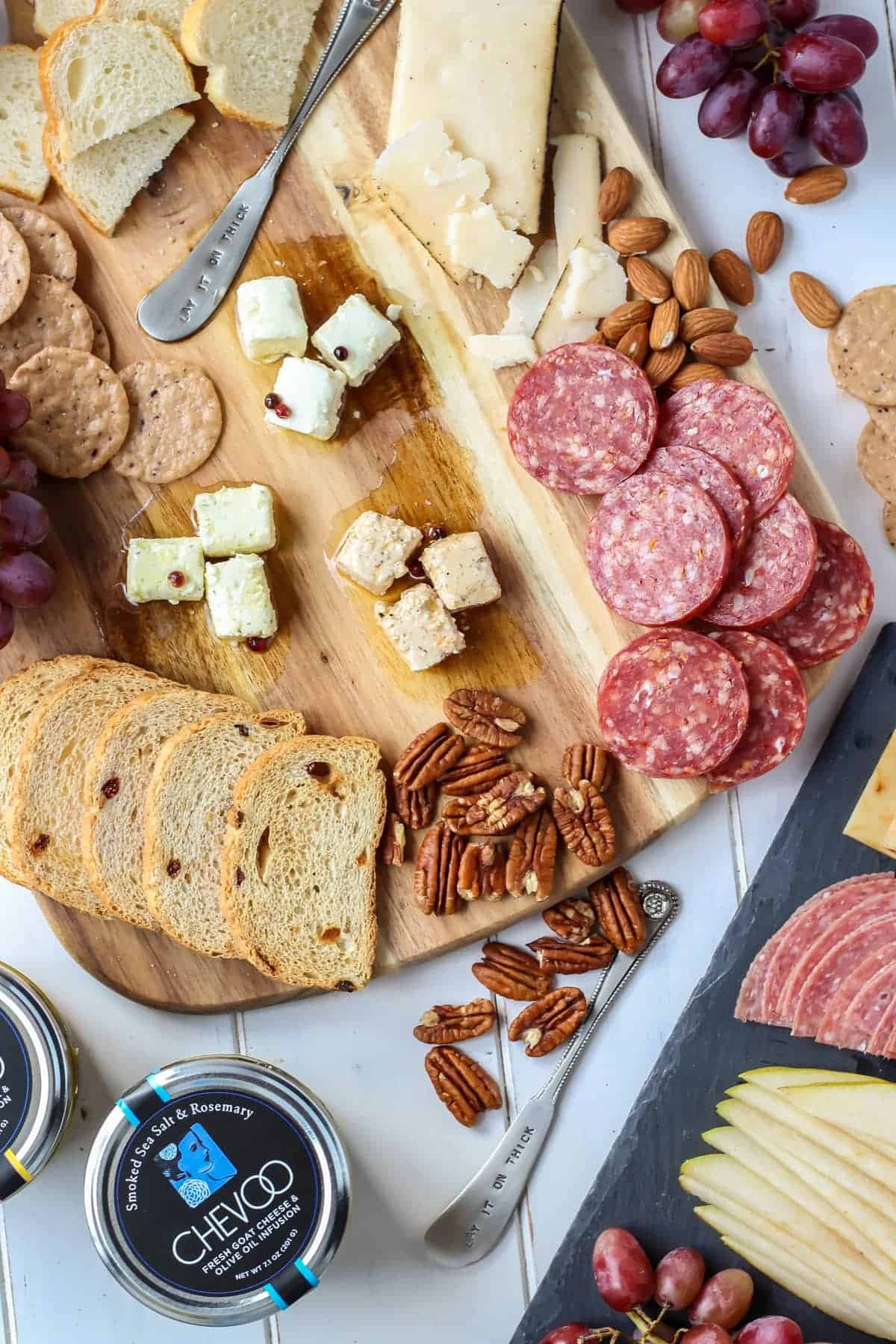 A cheese board is the best part about parties!