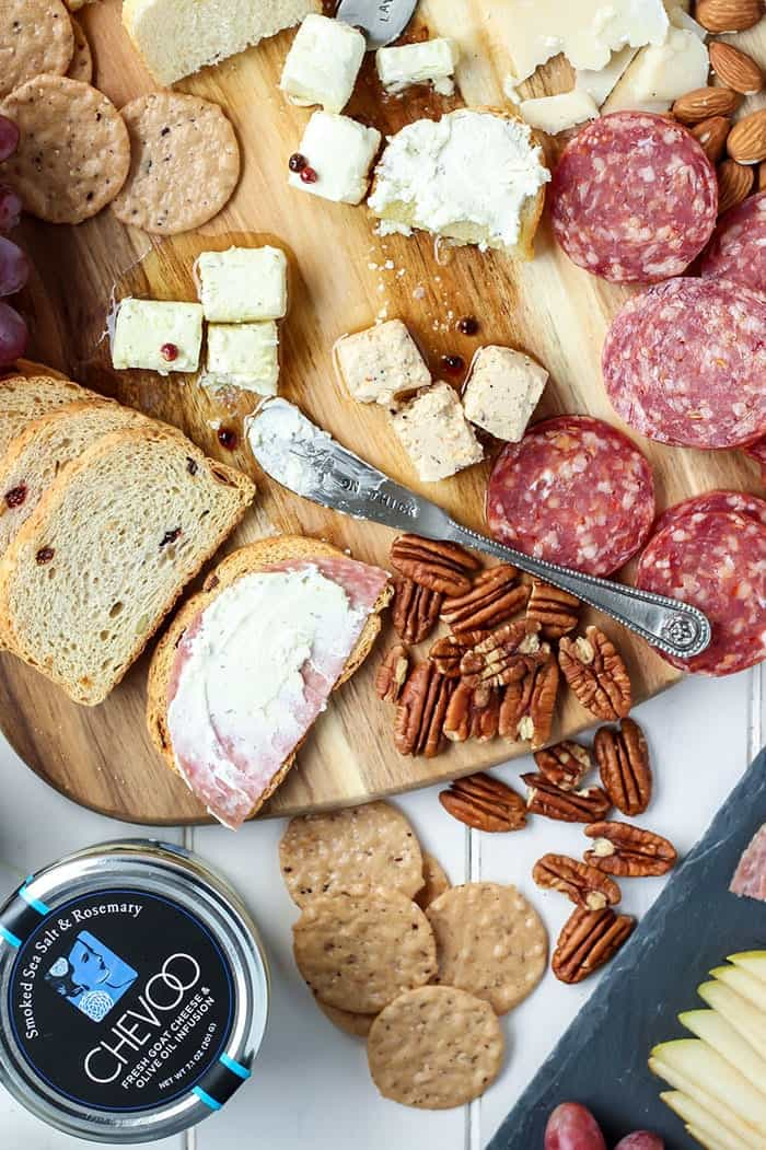 Make a cheese board for your next party and everyone will love you.