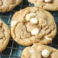 dairy-free friendly white chocolate chip macadamia nut cookies!