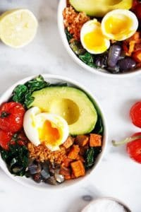 11 Savory Whole30 Breakfast Recipes you most definitely need in your life. | Chorizo Breakfast Bowl