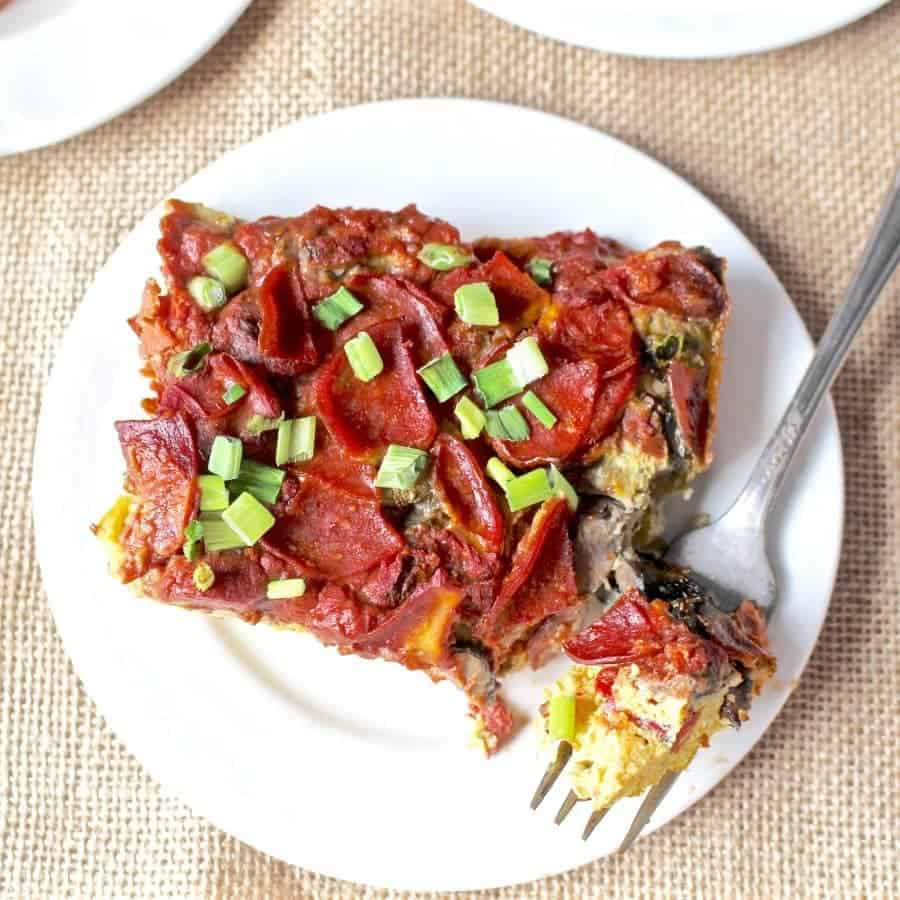11 Savory Whole30 Breakfast Recipes you most definitely need in your life. | Pizza Quiche