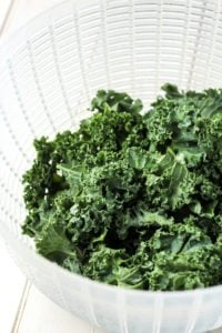 The key to good kale chips!