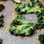 Crispy absolutely delicious and flavorful kale chips!