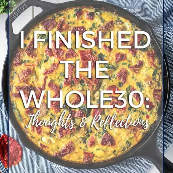 The Whole30 Diet thoughts and reflections... | Fit Mitten Kitchen