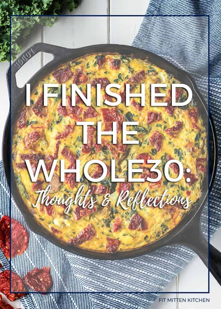 The Whole30 Diet thoughts and reflections...   Fit Mitten Kitchen