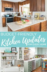 Tons of Budget-Frienly Kitchen Updates for Every Home. || Fit Mitten Kitchen