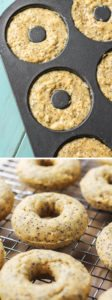 Easy baked donuts! Lemon poppy seed, dairy-free.