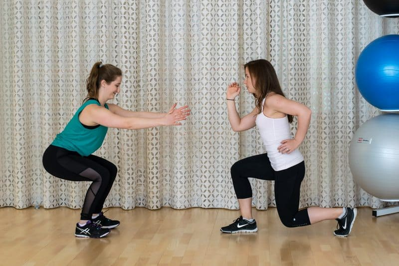 20 Minute Buddy Band Workout - Squat & Jump Lunges