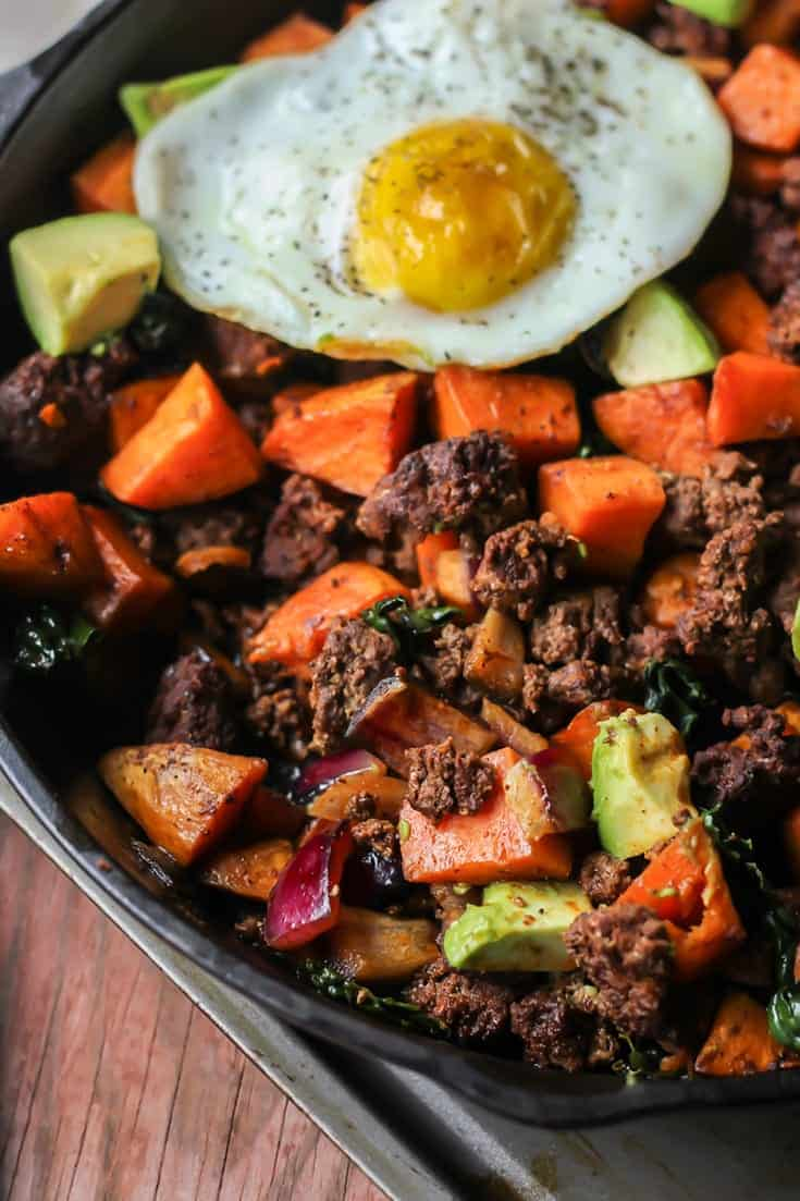 Six ingredients you probably already have in your pantry! Chorizo Breakfast Hash. Paleo, gluten free, whole30