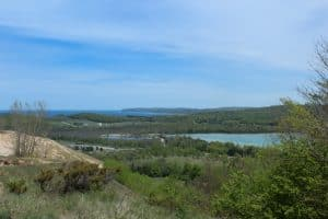 Views from the Cotton Wood Trail in Sleeping Bear Dunes National Lakeshore