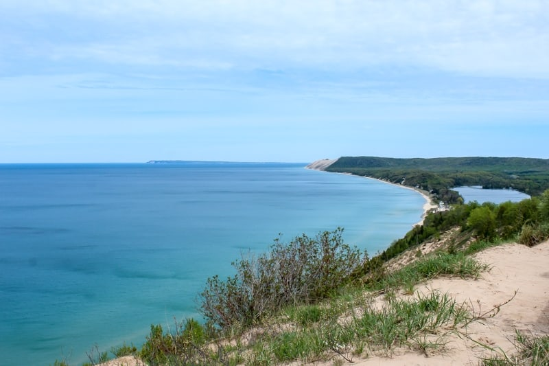 Empire Bluffs, Sleeping Bear Dunes, Empire, Michigan