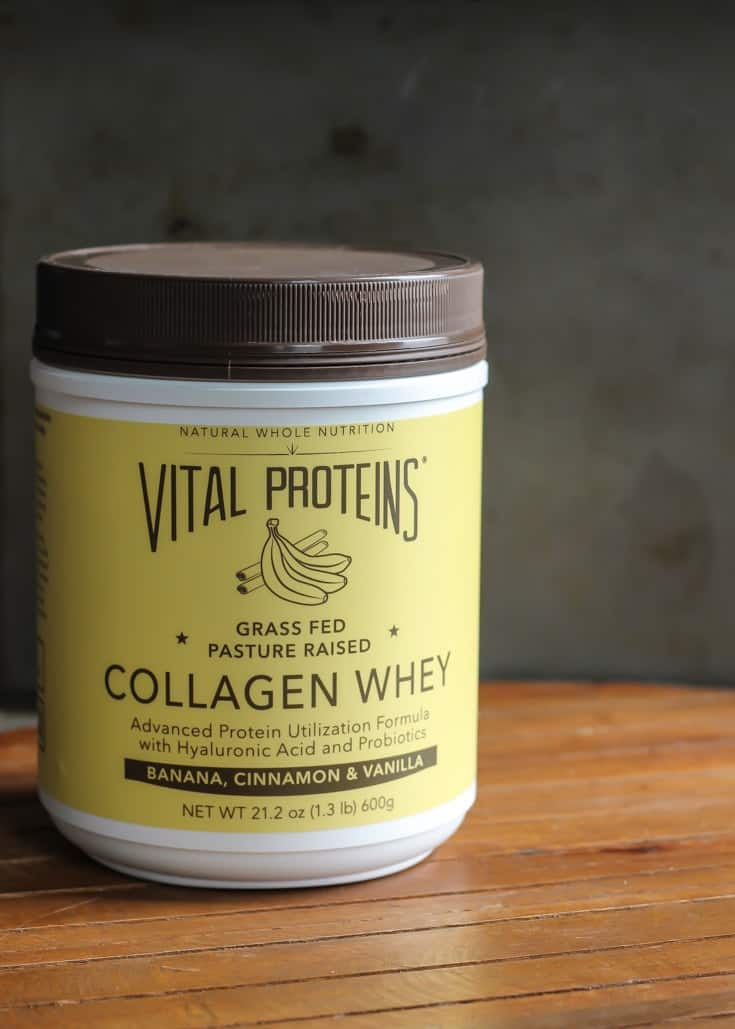 The Banana Collagen Whey from Vital Proteins is pretty amazing. #ad