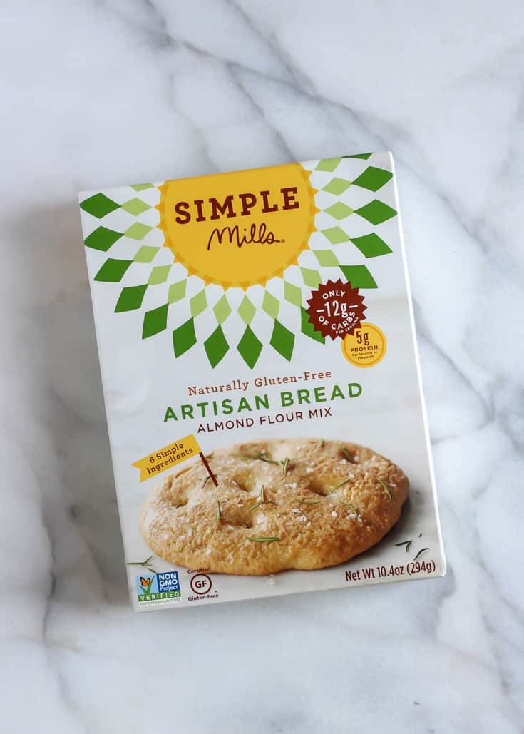 Simple Mills Artisan Bread Mix in box