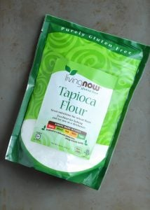 Tapioca Flour for Paleo Pizza Crust! #NOWWellness #ad