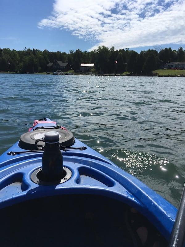 Kayaking Lake Huron