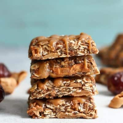 Medjool Date Apple Oat Bars [V, GF]