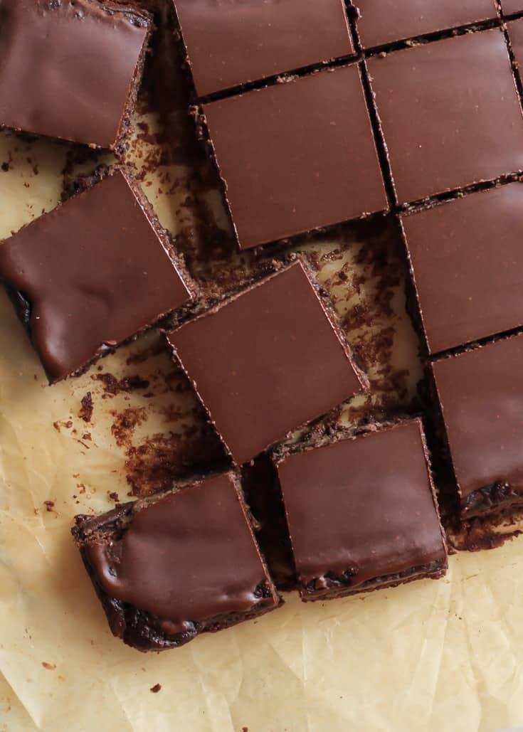 Paleo Chocolate Brownies With Zucchini