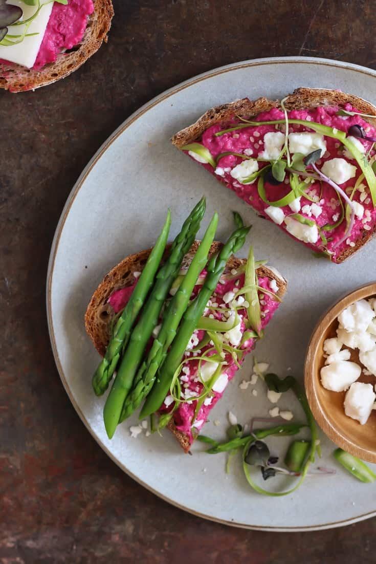 Beet toast!! | Food Photography Workshop #foodphotography #photography