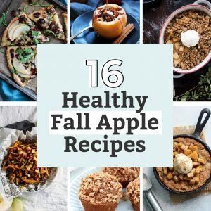 16 healthy fall apple recipes