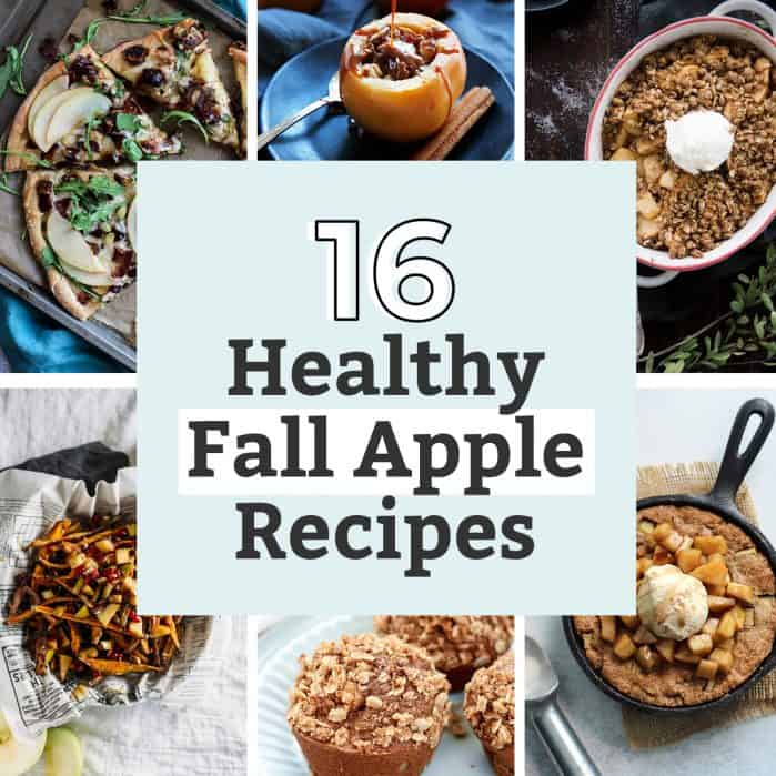 16 healthy fall apple recipes