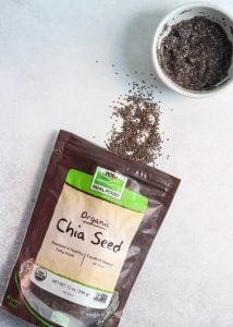 Chia seeds help make these Apple Cinnamon Oatmeal Cookie Bars vegan. (sponsored)
