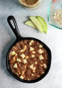This Apple Pie Cookie Skillet is easy and the perfect dessert for two.