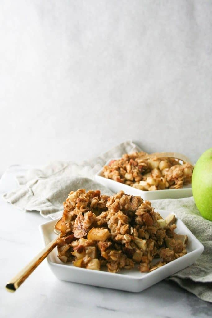 MUST MAKE FALL RECIPES! Baked Apple Cinnamon Oatmeal