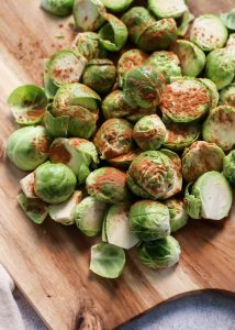 cinnamon brussels sprouts are a great way to enjoy this awesome green vegetable.