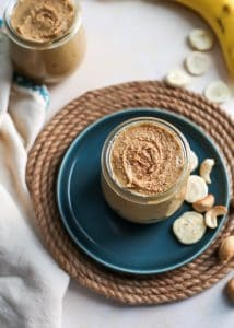 Who knew adding freeze dried bananas into cashews could result in one delicious creation? This Vanilla Bean Banana Cashew Butter will be your new favorite thing.