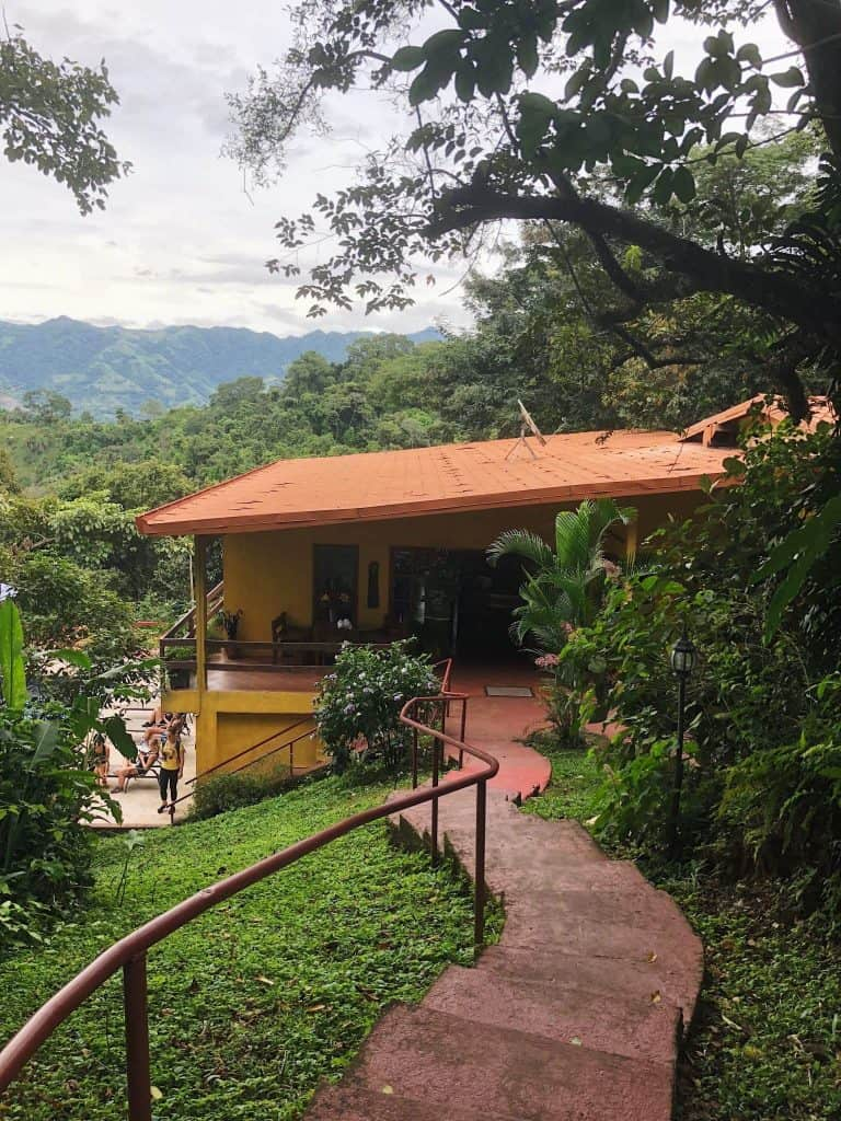 The retreat took place at the Ama Tierra Wellness Center, nestled away in the hills of San Jose province in Costa Rica. A beautiful setting with the house and pool overlooking a valley and mountains in the background. It was quite stunning.
