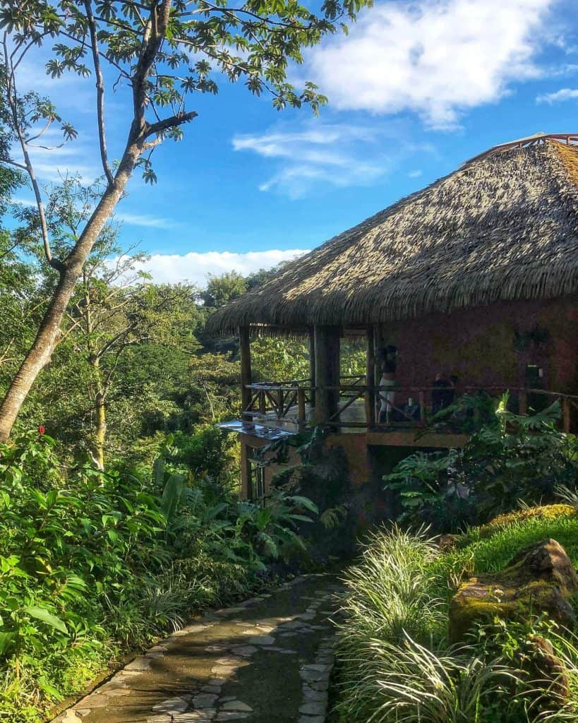 The amatierra yoga retreat – yoga room