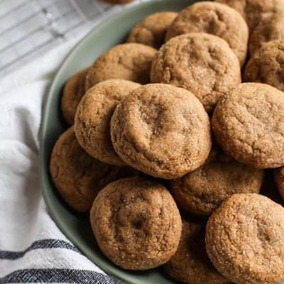 Pillow Soft Whole Wheat Gingerdoodles