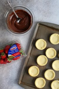 Chocolate Covered Strawberry Cheesecakes. These are so fun to make and really impress guests!