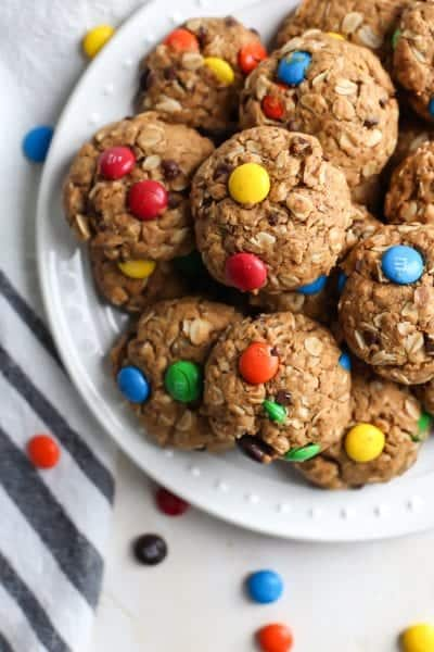 Healthier Monster Cookies [gluten-free]