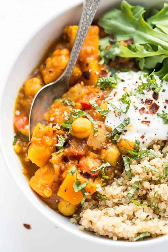 Slow Cooker Moroccan Chickpea Stew - 18 Healthy Slow Cooker Recipes