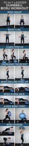 pinterest image for bosu workout