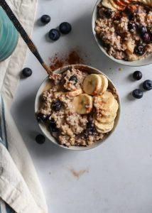 Blueberry Banana Oatmeal