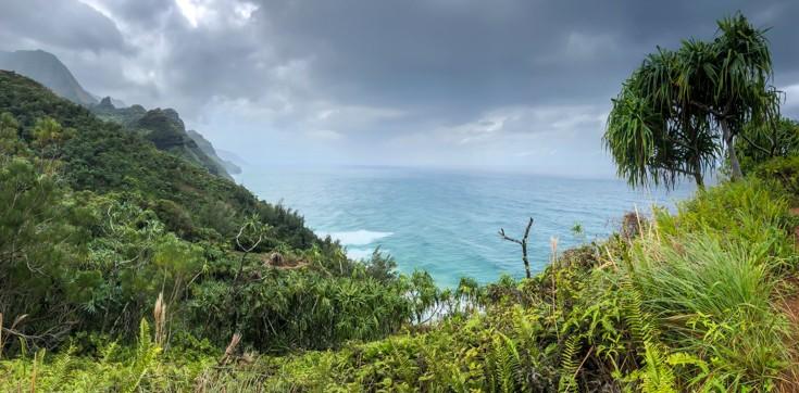 Napali Coast. Kalalau Trail